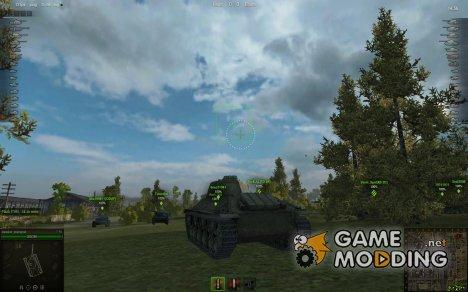 Аркадный и Снайперский прицелы для World of Tanks