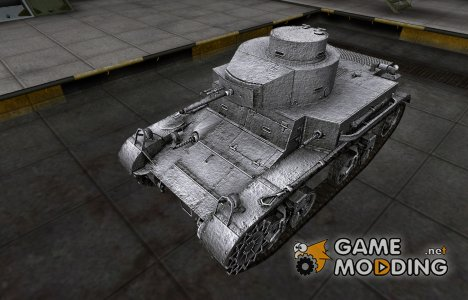 Темный скин для M2 Light Tank для World of Tanks