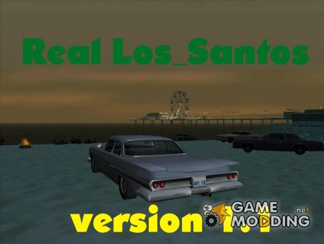 Real Los_Santos version 1.1 для GTA San Andreas