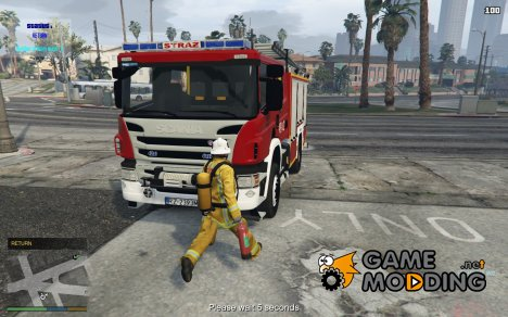 Firefighters Mod V1.8R for GTA 5