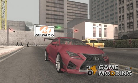 Lexus RC F RocketBunny для GTA San Andreas
