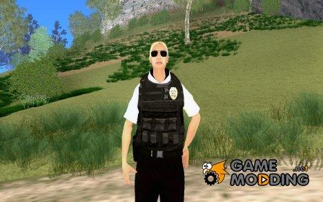 Новый полицейский на замену старому wfyst for GTA San Andreas