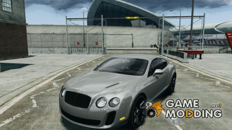 Bentley Continental SS 2010 ASI Gold для GTA 4