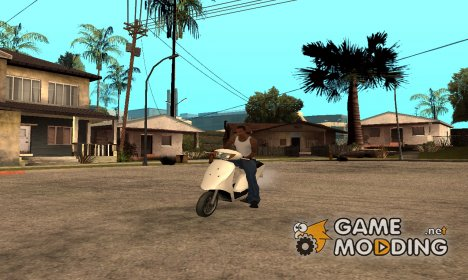 Honda Dio AF-34 for GTA San Andreas