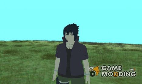 Саске из Наруто HD (Road to ninja) для GTA San Andreas