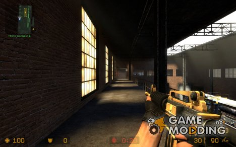Two-tone M4A1 Kimber BETA (V1) for Counter-Strike Source