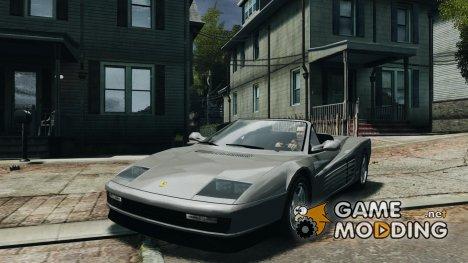 Ferrari Testarossa for GTA 4