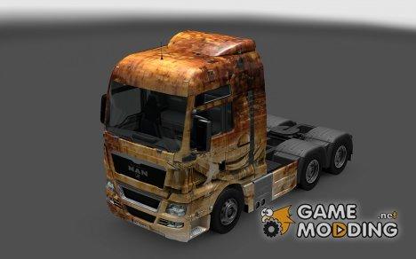 Скин 9 мая для MAN TGX для Euro Truck Simulator 2
