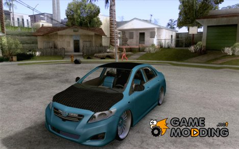 Toyota Corolla 2008 Tuning for GTA San Andreas