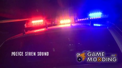 Police Siren sound for GTA San Andreas