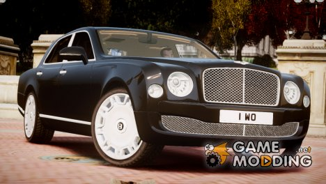Bentley Mulsanne 2014 for GTA 4