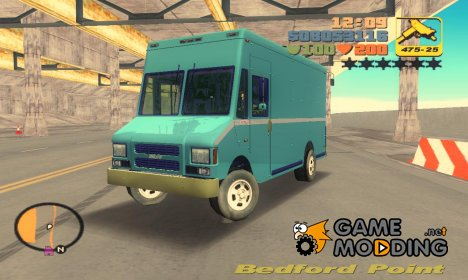 Boxville из GTA 4 для GTA 3