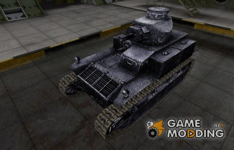 Темный скин для T2 Medium Tank для World of Tanks