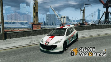 Peugeot 207 для GTA 4