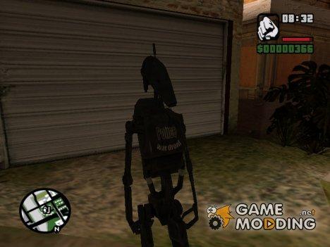 Боевой дроид (1) для GTA San Andreas
