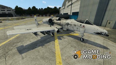 Fairchild Republic A-10A Thunderbolt II для GTA 4