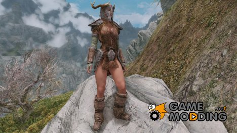 New Ancient Nord Armor for CBBE для TES V Skyrim