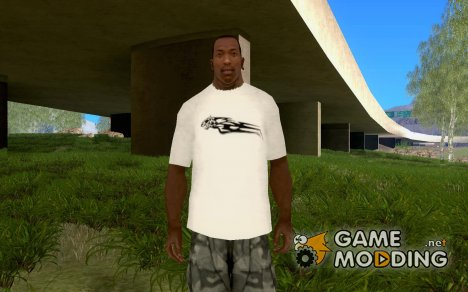 Новая футболка для Сиджея for GTA San Andreas