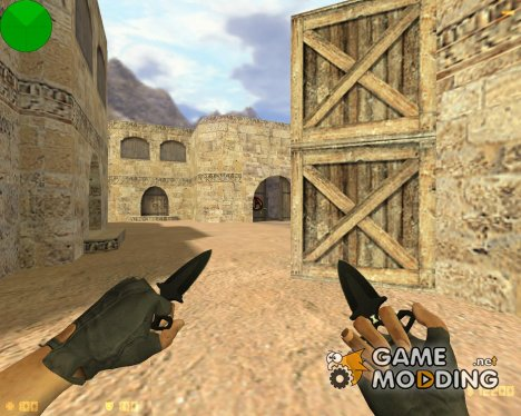 CS GO Shadow daggers для Counter-Strike 1.6