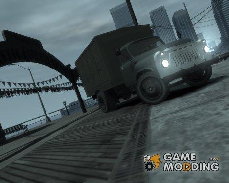 Газ-52 Хлебовоз для GTA 4