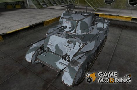 Шкурка для M5 Stuart для World of Tanks