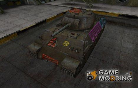 Качественные зоны пробития для T14 for World of Tanks