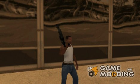 Оружие от Poplena v2 for GTA San Andreas