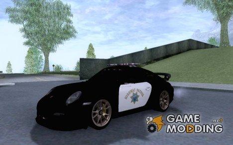 Porsche 911 GT2 RS (997) Police для GTA San Andreas