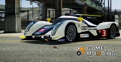 Audi R18 TDI 2011 для GTA 4