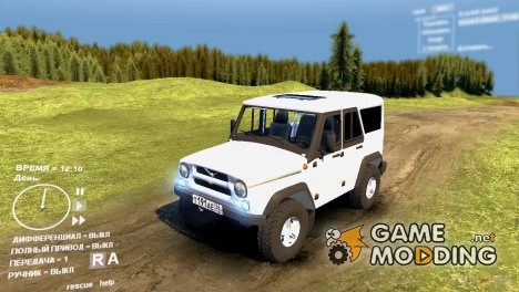 УАЗ Hunter 2 для Spintires DEMO 2013