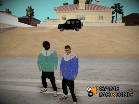 СкинПак for GTA San Andreas