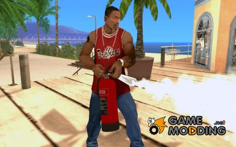 Огнетушитель for GTA San Andreas