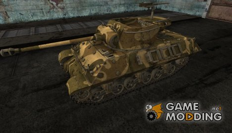 шкурка для M36 Slugger №3 for World of Tanks