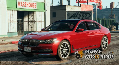 2016 BMW 750Li for GTA 5