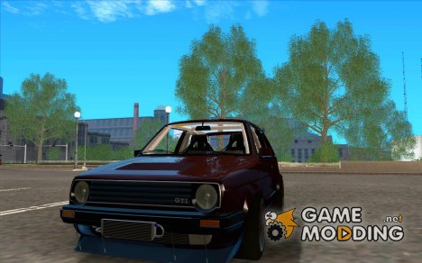 Volkswagen Golf MkII Racing for GTA San Andreas
