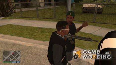 Lamar Devis в помощь для GTA San Andreas