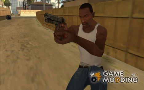 Пак HD оружия v2 for GTA San Andreas
