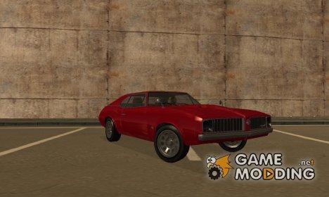 Declasse Stallion GTA V for GTA San Andreas