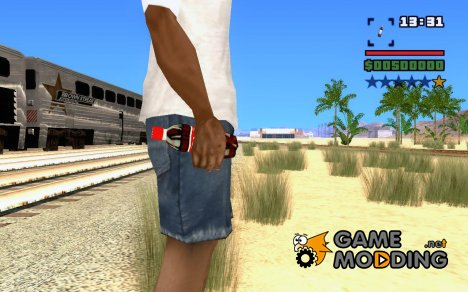 Бутылка Coca-Cola для GTA San Andreas