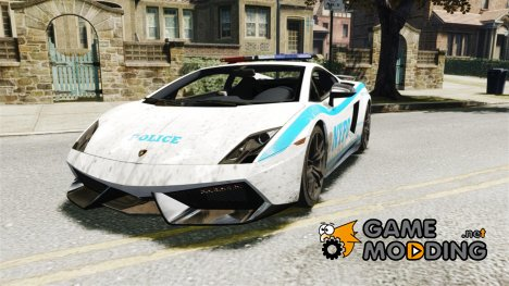 Lamborghini Gallardo LP570-4 Superleggera 2011 NYPD for GTA 4