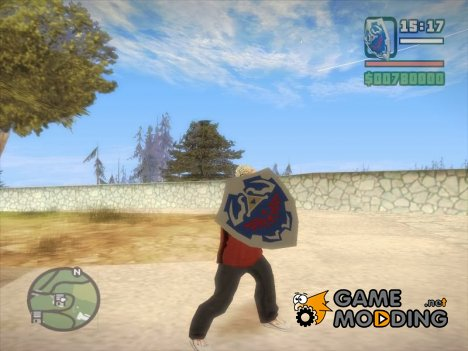 Hylian Shield Legend of Zelda v1 for GTA San Andreas