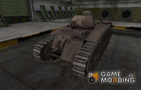Перекрашенный французкий скин для B1 для World of Tanks