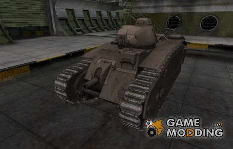 Перекрашенный французкий скин для B1 for World of Tanks