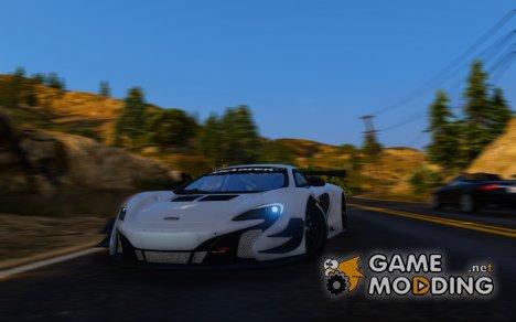 2015 McLaren 650 S GT3 for GTA 5