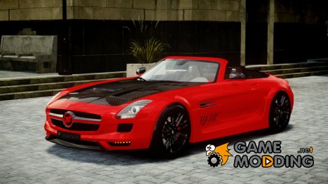Mercedes-Benz SLS Roadster 2012 HAMANN HAWK AMG [EPM] for GTA 4