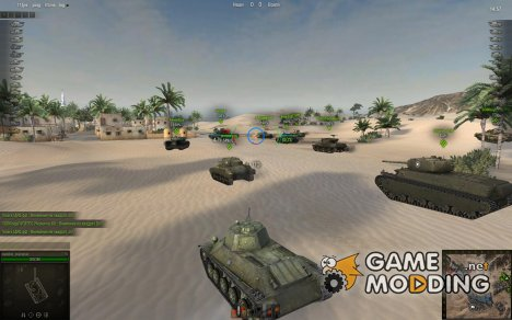 Снайперский, Аркадный, САУ прицелы for World of Tanks