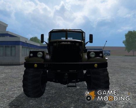 КрАЗ 255 Б1 Лесовоз для Farming Simulator 2015