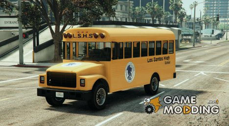 Classic school bus for GTA 5