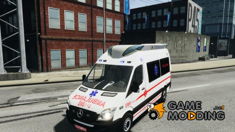 Mercedes-Benz Sprinter Iranian Ambulance для GTA 4