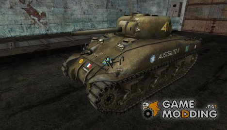 M4 Sherman от horacio for World of Tanks